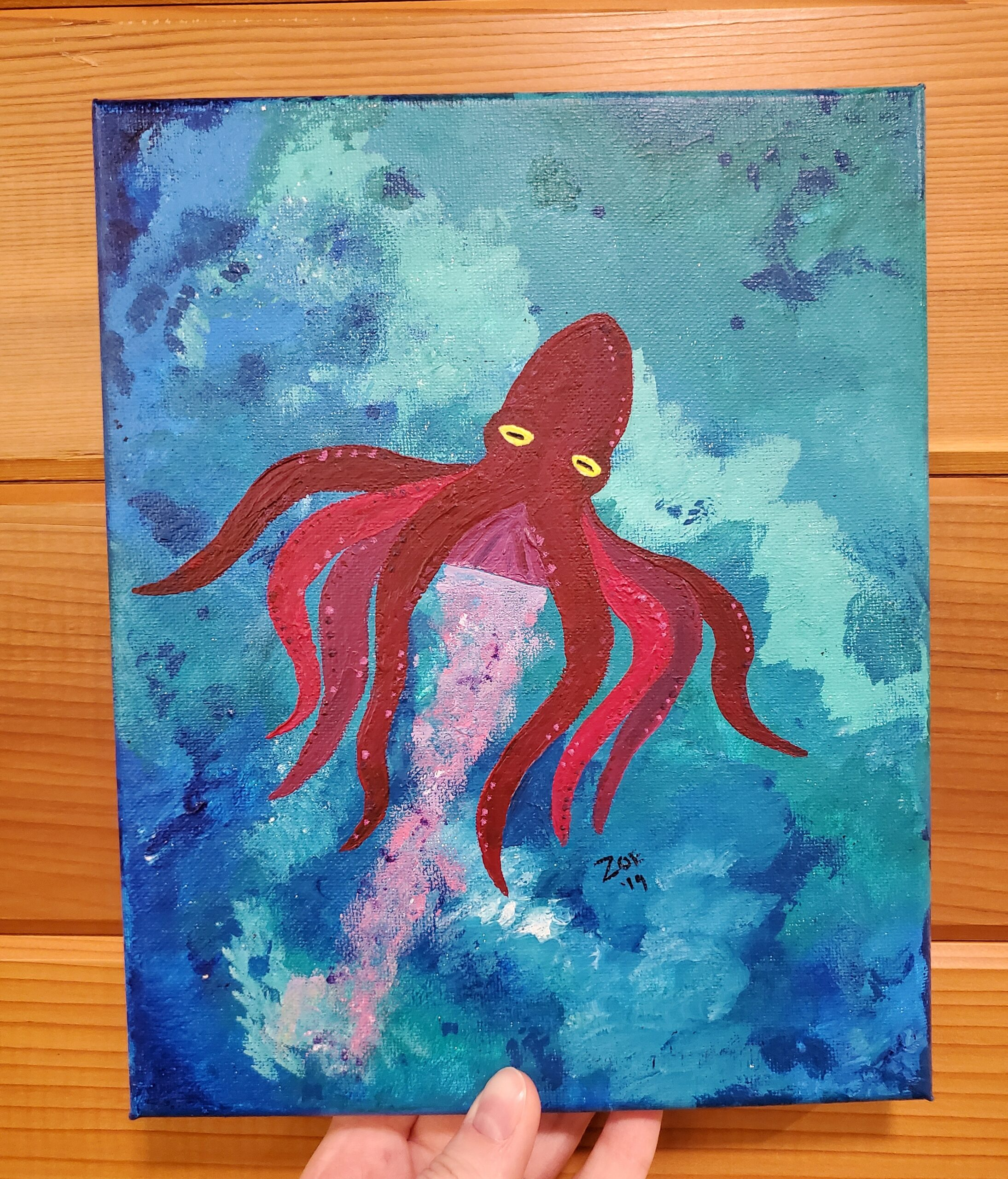 """""""Red Octopus"""""""