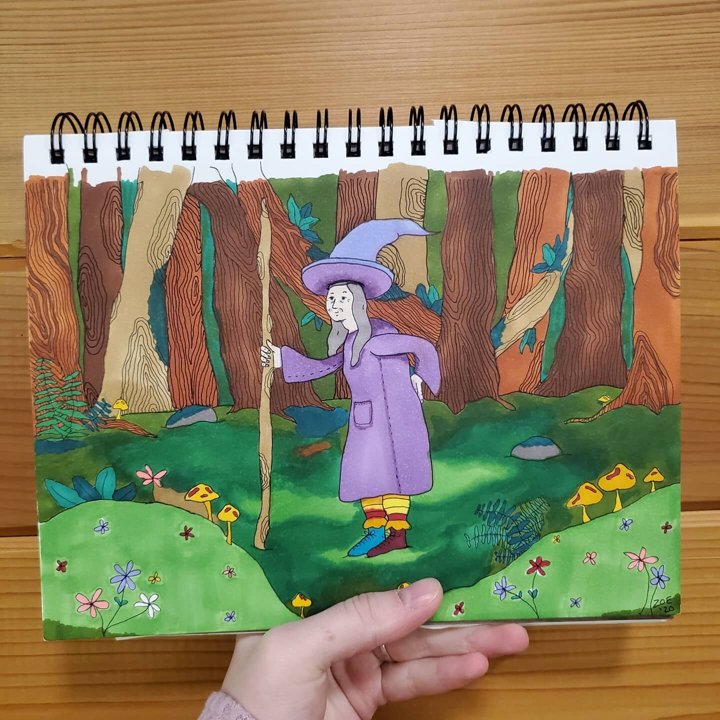 """Old Witch in the Woods"""